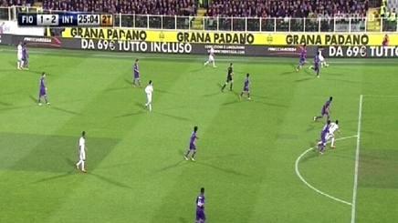 Fiorentina-Inter 1-2 (rete decisiva di Icardi)