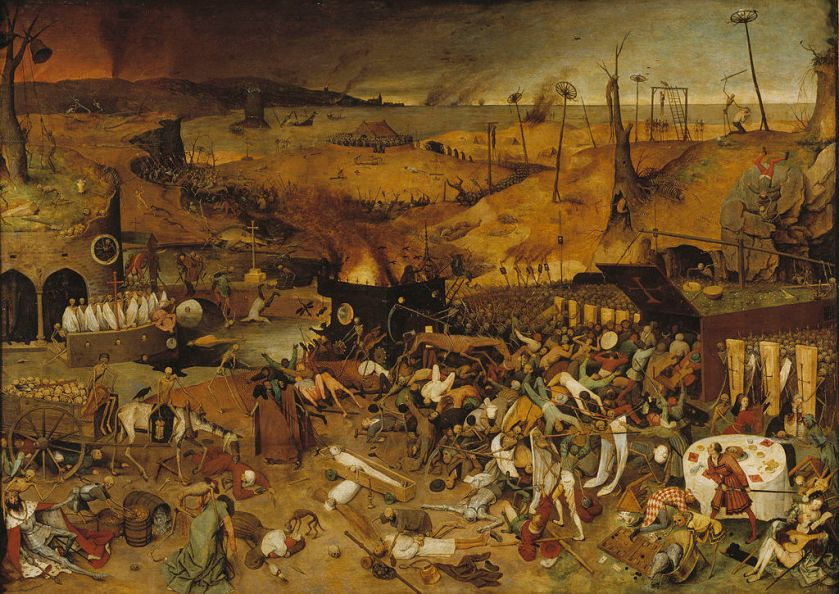 bruegel, trionfo della morte