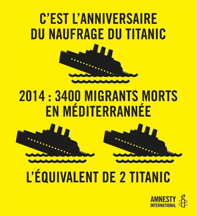 migranti e titanic