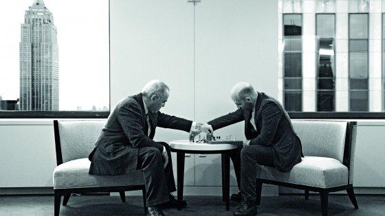 scacchi fra saviano e kasparov