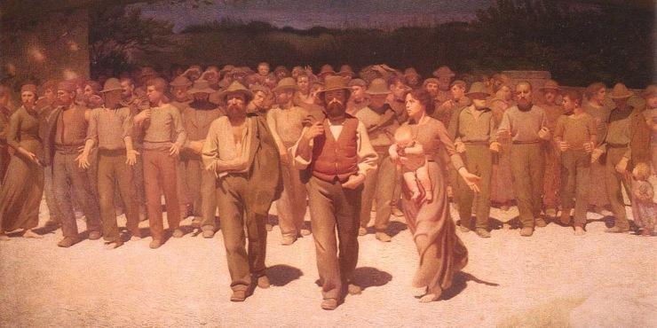 Festa del lavoro - Quarto-Stato (1901)