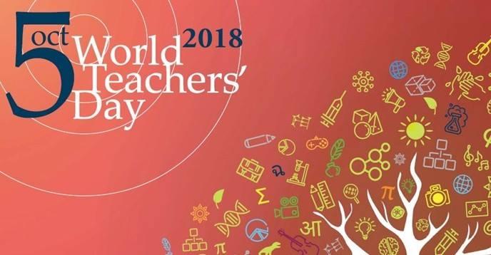 5 ottobre: Giornata mondiale degliinsegnanti