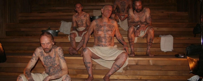 sauna gangster