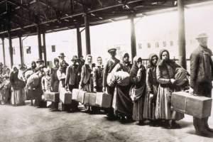 treno degli emigranti
