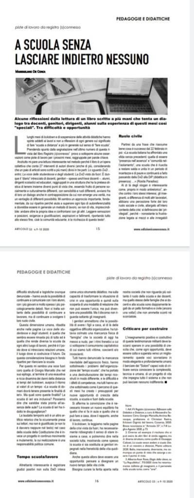 Articolo 33 - n.9-10/2020